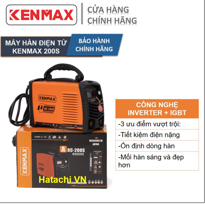 Máy hàn - Máy hàn điện tử - Kenmax ARC 200S