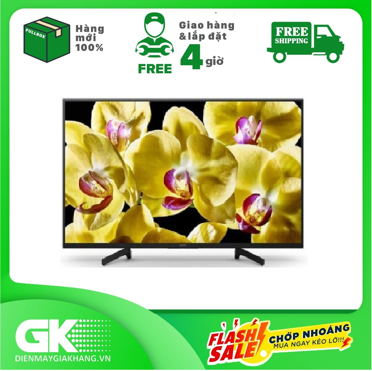 Bảng giá Android Tivi Sony 4K 43 inch KD-43X8000G