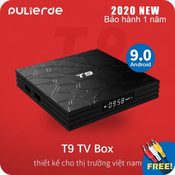 [Hot Deal][Hộp TV thông minh]T9 tivi box Android 9.0 2GB/4GB RAM 16GB/32GB/64GB ROM 5GHz wifi RK3318 Hỗ trợ Bluetooth 4K smart TV box Media Player