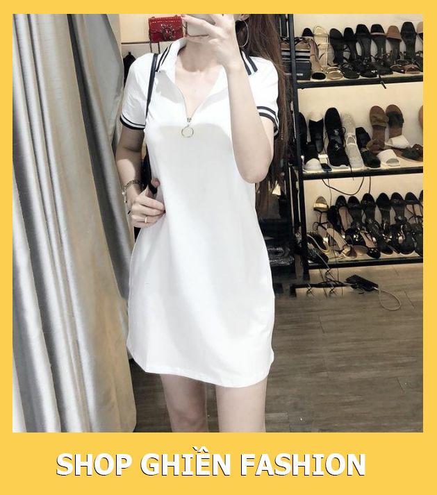 Mã Coupon Đầm Suông Cổ Trụ Dây Kéo Như Hình Có Size Từ 40-65kg (Kèm ảnh Thật Khách Tự Chụp)