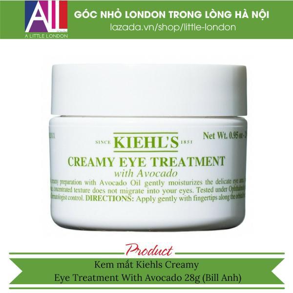 Kem mắt Kiehls Creamy Eye Treatment With Avocado 28g (Bill Anh)