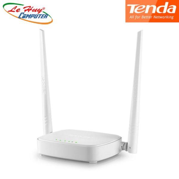 Bảng giá Thiết bị phát sóng WIFI 2 anten tốc độ 300M TENDA N301 (Trắng) Phong Vũ