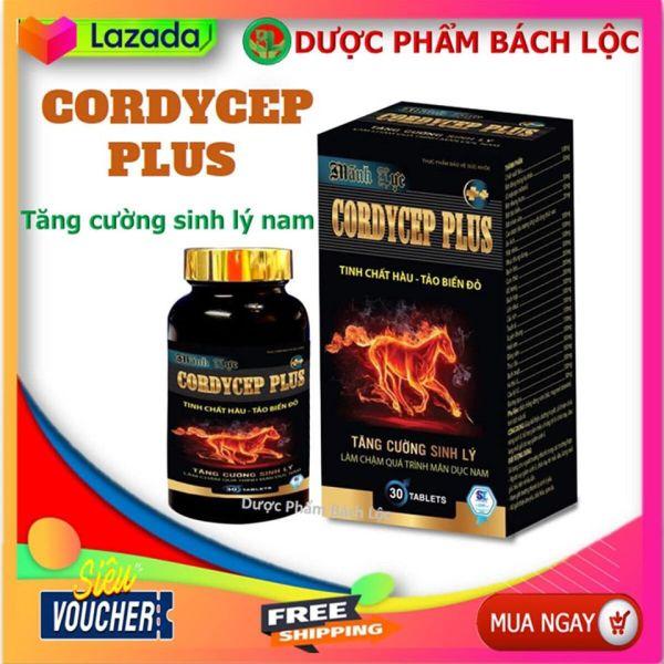 Mãnh Lực Cordycep Plus - Bổ Thận, Tráng Dương, Tăng Cường Sinh Lý- Hộ 30 viên