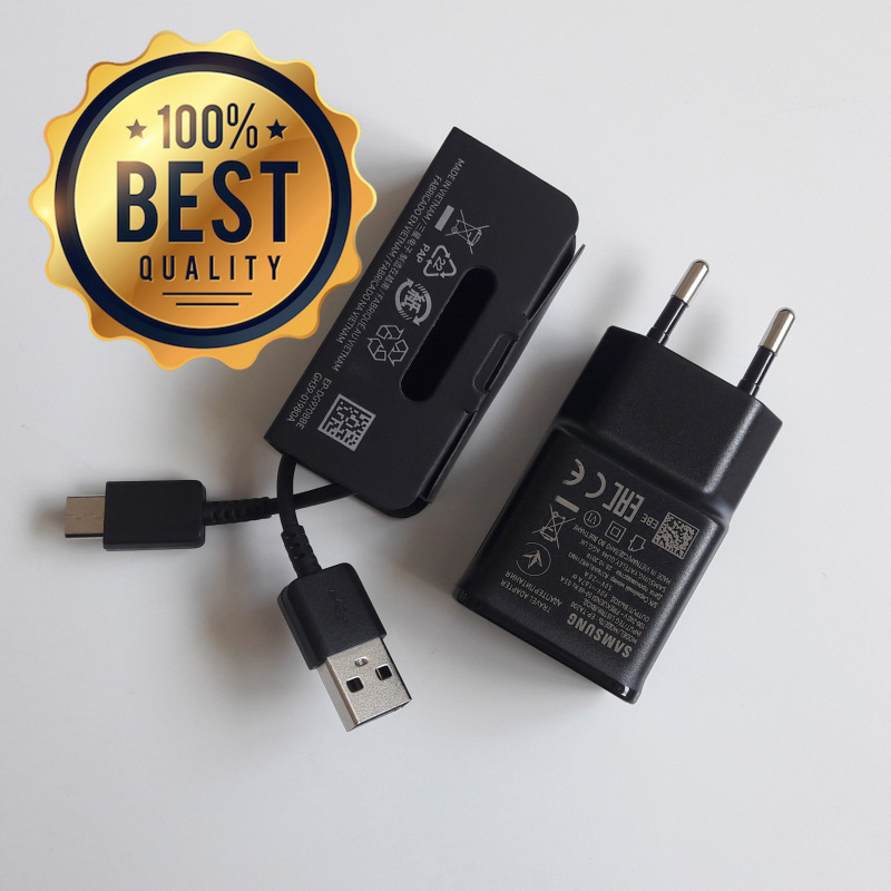 Giá Bộ sạc nhanh dùng cho Samsung A50s (Cam Kết Sạc ZIN) (Adaptor Đen Nhám + Cable chuẩn type C) (Fast Charging)