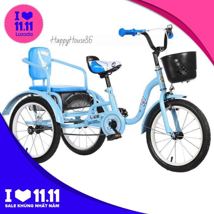 Mua Xe đạp xích lô trẻ em cao cấp, có khoang đựng đồ