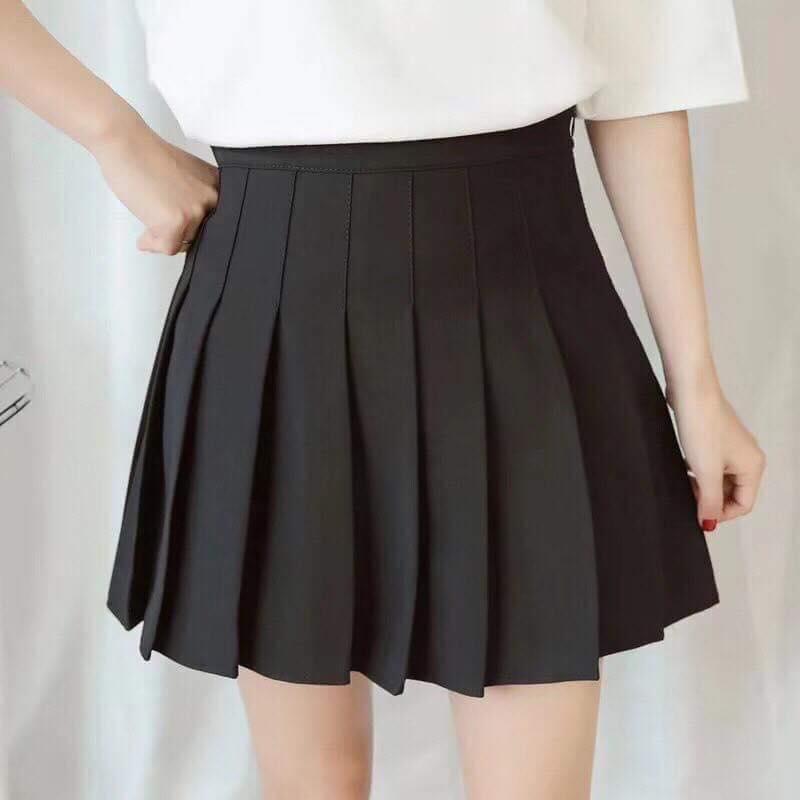 Chân váy tennis may kèm quần bên trong hàng y hình