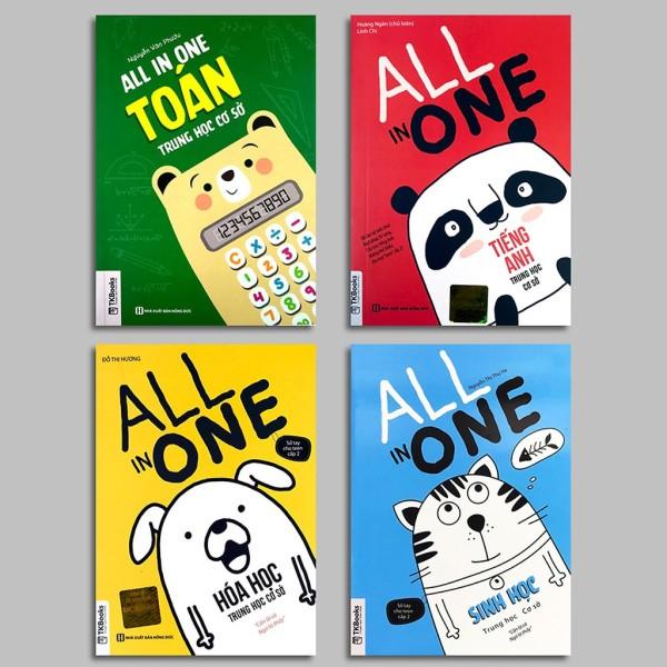 Combo sách - All In One THCS: Toán - Hóa - Sinh - Anh (Lẻ tùy chọn) - Anh
