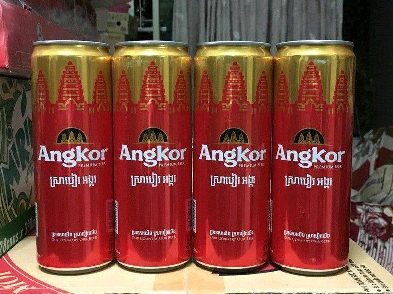 Giá Dùng Thử 4 Lon Bia Angkor Loại Lớn 375 Ml Đang Ưu Đãi Giá