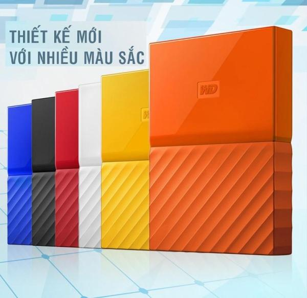 Bảng giá Ổ cứng di động cắm ngoài Western Digital My Passport 2TB ( Bảo Hành 36 Tháng 1 Đổi 1) Phong Vũ