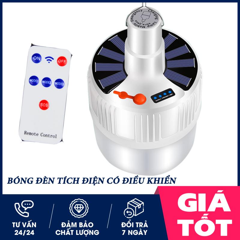 Bóng đèn tích điện,công suất 100W,  bóng đèn tích điện có điều khiển từ xa, SL-24 , bóng đèn led sạc tích điện, đèn led,  đèn năng lượng mặt trời, bóng đèn tích điện siêu sáng 100w ( LOẠI TO)-1 ĐỔI 1 TRONG 7 NGÀY