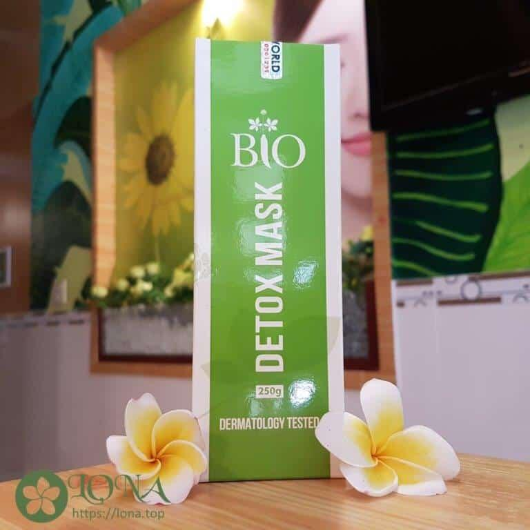 Mặt Nạ Thải Độc BIO Detox Mask 250g / Mỹ Phẩm Organic