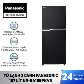 Tủ Lạnh Panasonic 167 Lít Inverter NR-BA189PKVN - Kháng khuẩn tinh thể bạc Ag+ - Bảo Hành 2 Năm - Hàng Chính Hãng