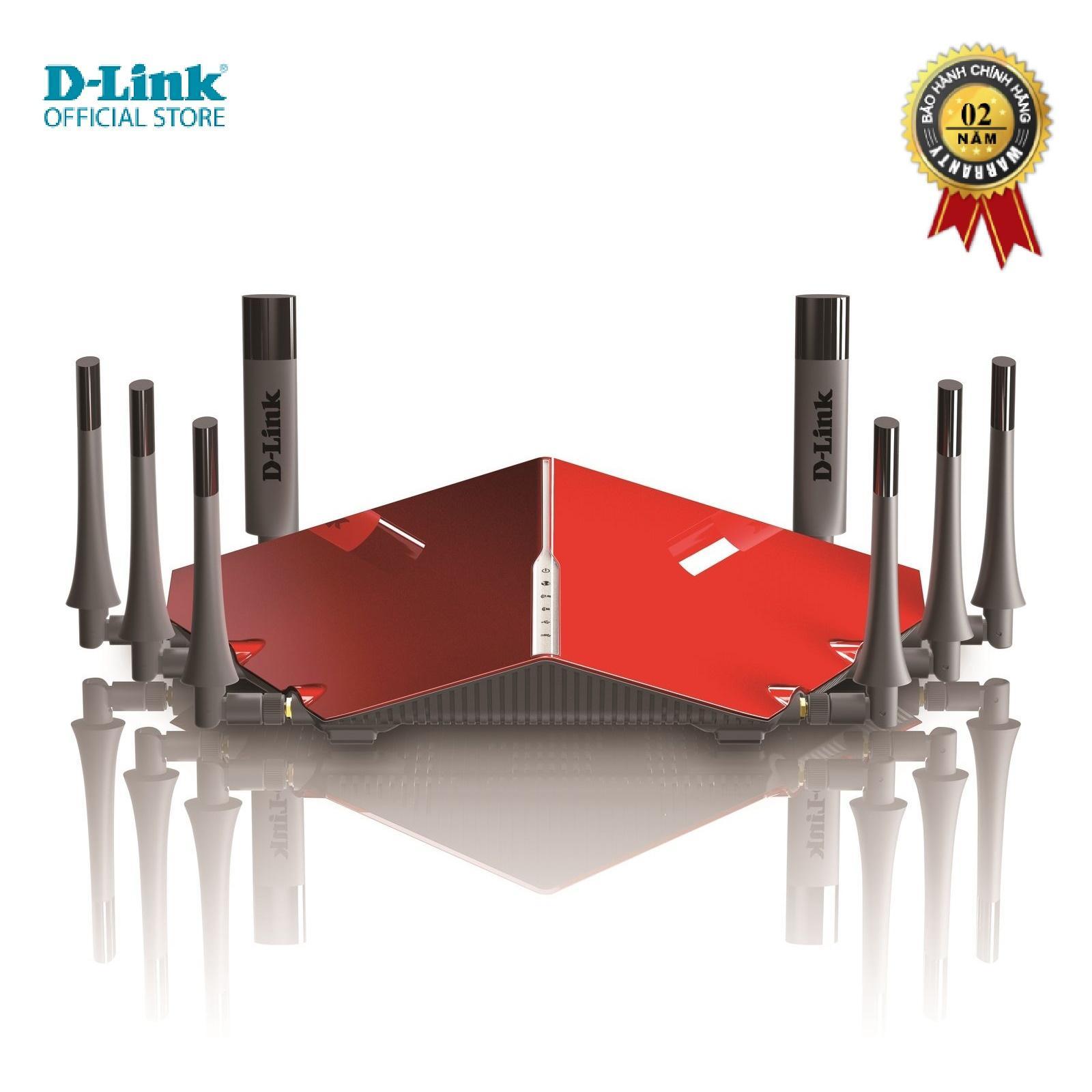 Giá Router wifi băng tần kép D-LINK DIR-895L - Hàng chính hãng