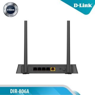 D-Link Bộ Phát Wi-Fi Băng Tần Kép AC750 750Mbps DIR-806A (Đen) - Bảo Hành 24 Tháng thumbnail