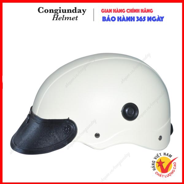 Nón bảo hiểm Sơn thông gió Chất liệu nhựa ABS siêu bền cao cấp / mũ bảo hiểm sơn /  non bao hiem / mu bao hiem / nón sơn / mũ sơn