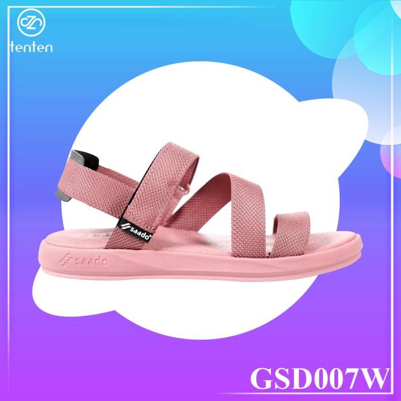 Giày Sandal Nữ Thời Trang Siêu Bền Nhẹ GSD007W giá rẻ