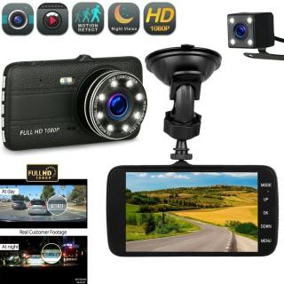 Camera Hành trình ô tô ONTEK 8L Trước sau FULL HD 1080P - Tích hợp 8 LED thumbnail