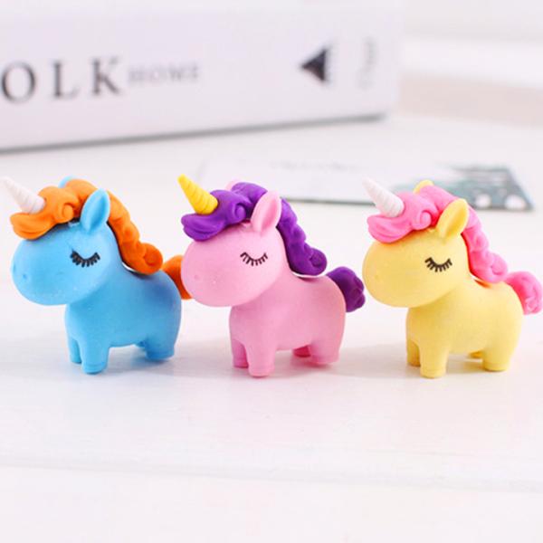 Mua Gôm tẩy hình Unicorn đủ màu sắc sáng tạo chất cao su mềm tẩy sạch giúp bé hứng thú hơn với những giờ học Baby-S – SH034