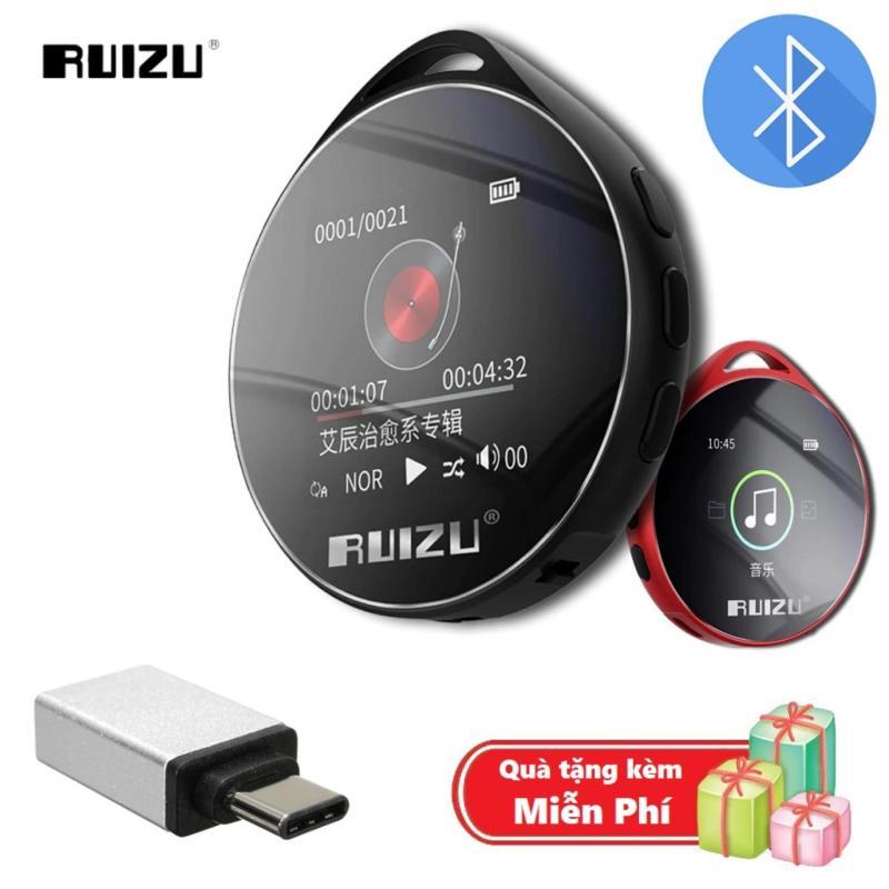 ( Quà tặng Đầu OTG cho điện thoại cổng Type C ) Máy nghe nhạc MP3 Bluetooth cao cấp Ruizu M10 - Hifi Music Player Ruizu M10 - Màn hình cảm ứng 1.8inch - Máy nghe nhạc Lossless Ruizu M10