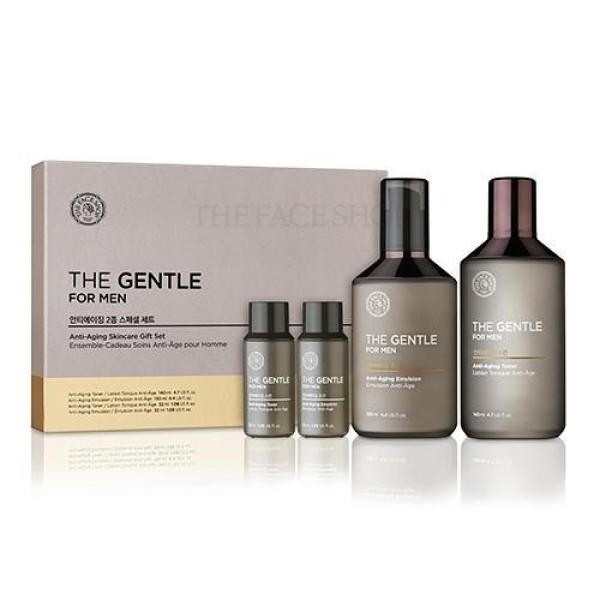 Bộ Dưỡng dành cho nam The Gentle For Men Anti Aging Skincare Gift Set nhập khẩu