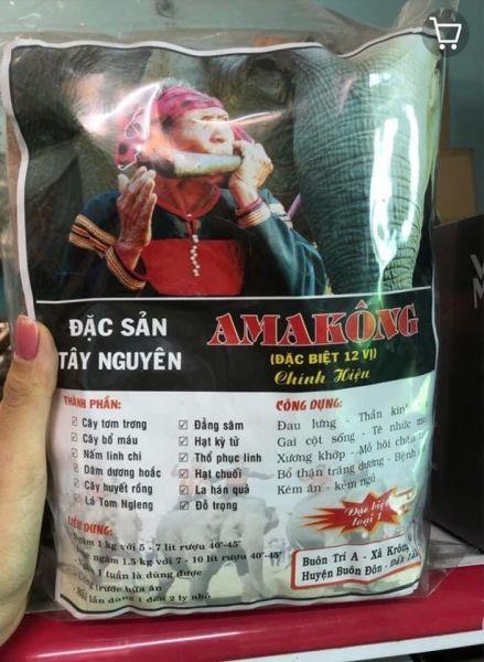 Amakong hỗ trợ đau lưng bổ thận tốt cho nam