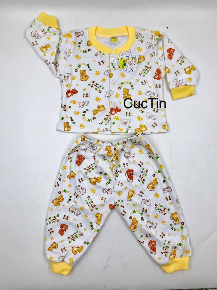 Giá bán Bộ ấm bé gái, thun cotton 4 chiều dày ,co dãn ,êm ,mềm , bao đẹp,(5kg đến 20kg) CUCTIN