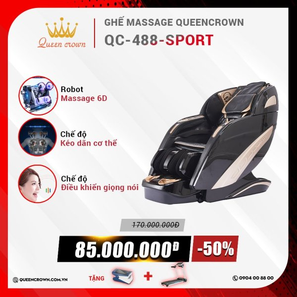Ghế massage Queen Crown QC 488 Sport
