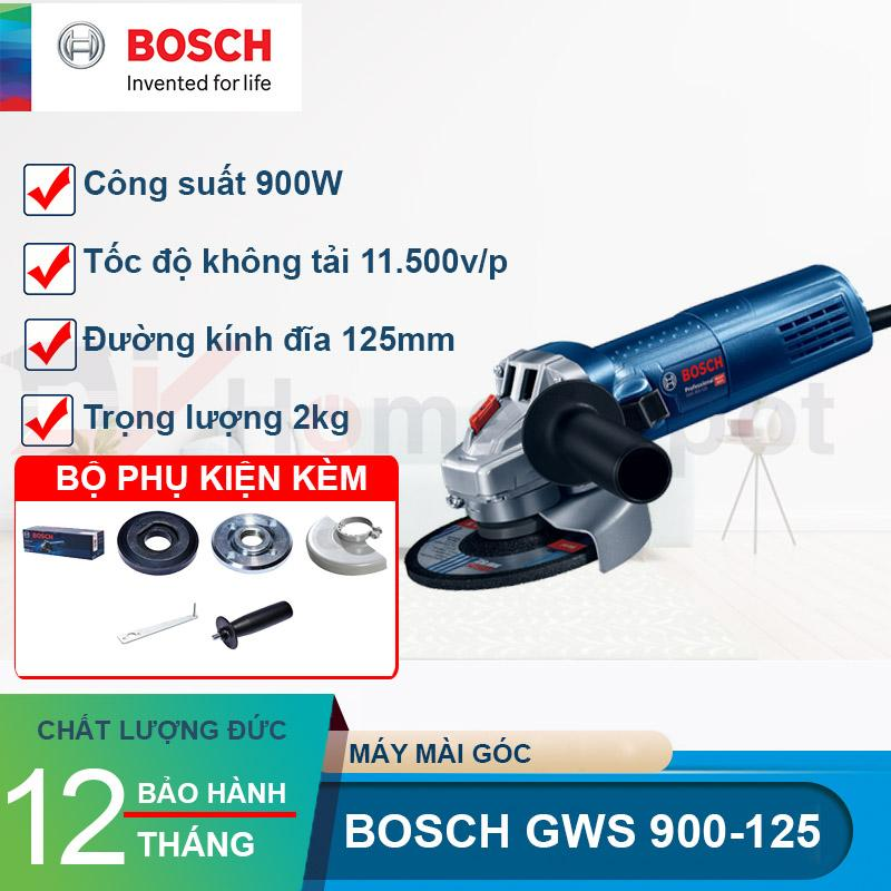 Máy mài góc 900W Bosch GWS 900-125