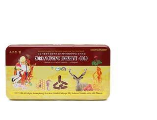 Sâm nhung linh chi Korean Ginseng Linhzhivit - Gold 60 viên thumbnail