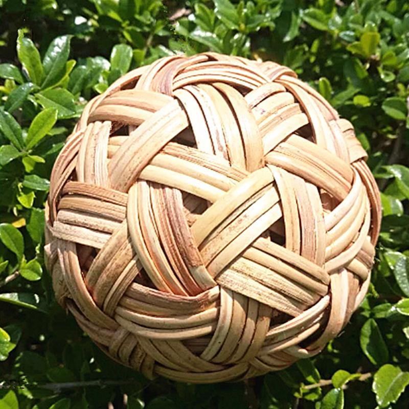 Children Cuju Ball Hand-Made Vine Bal Classical Football Bamboo Ball Import Vine Bal Cuju Collapse Bowed Ball Cuqiu Instant Success Round By Taobao Collection.