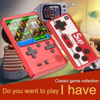 Máy chơi game cầm tay mini 500 trò 2 người chơi Máy game 4 nút cầm tay retro psp giá rẻ - Game điện tử 4 nút đồ họa đẹp hơn Sup 400 in 1-500 in 1( Màu ngẫu nhiên ) thumbnail