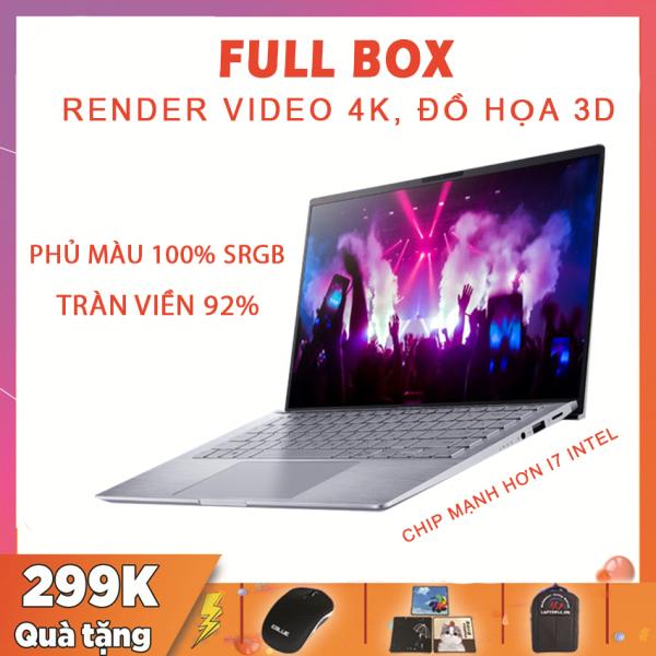 Bảng giá [FULL BOX] Asus Zenbook 14 Q407IQ, Siêu Phẩm Đồ Họa Màn Tràn Viền, Ryzen R5-4500U, RAM 8G, SSD 256G Nvme, VGA NVIDIA MX350-2G, Màn 14 Full HD IPS, Laptop Dell Phong Vũ