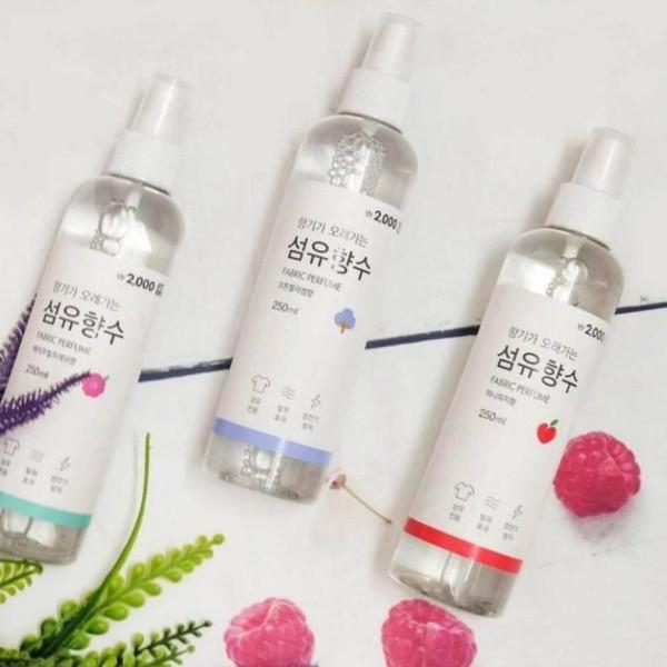 Xịt thơm quần áo xịt thơm quần áo Fabric Ferfume 250ml nội địa Hàn Quốc chất lượng đảm bảo an toàn cho người dùng và cam kết hàng đúng như mô tả