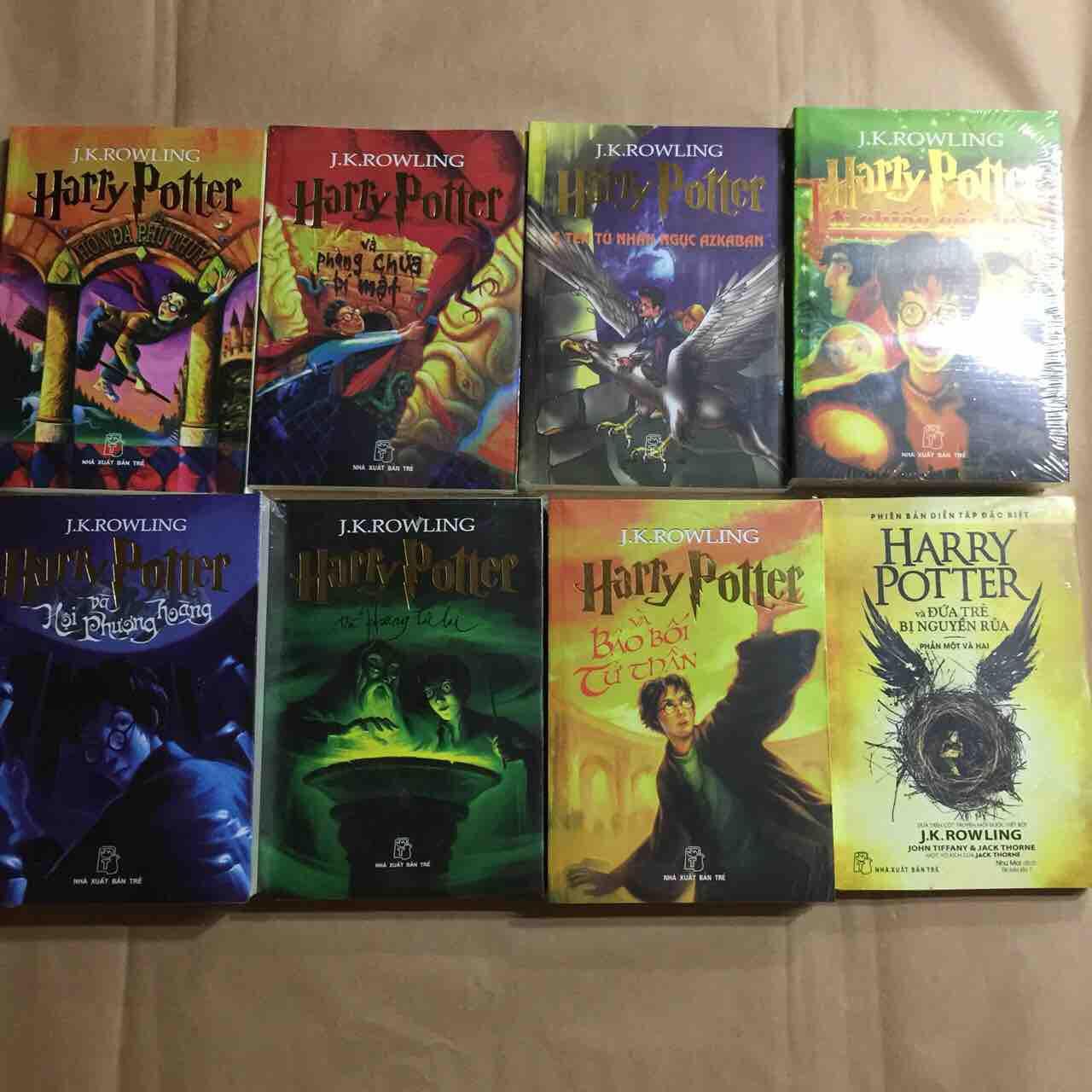 Lazada Khuyến Mãi Khi Mua Harry Potter Trọn Bộ 8 Tập