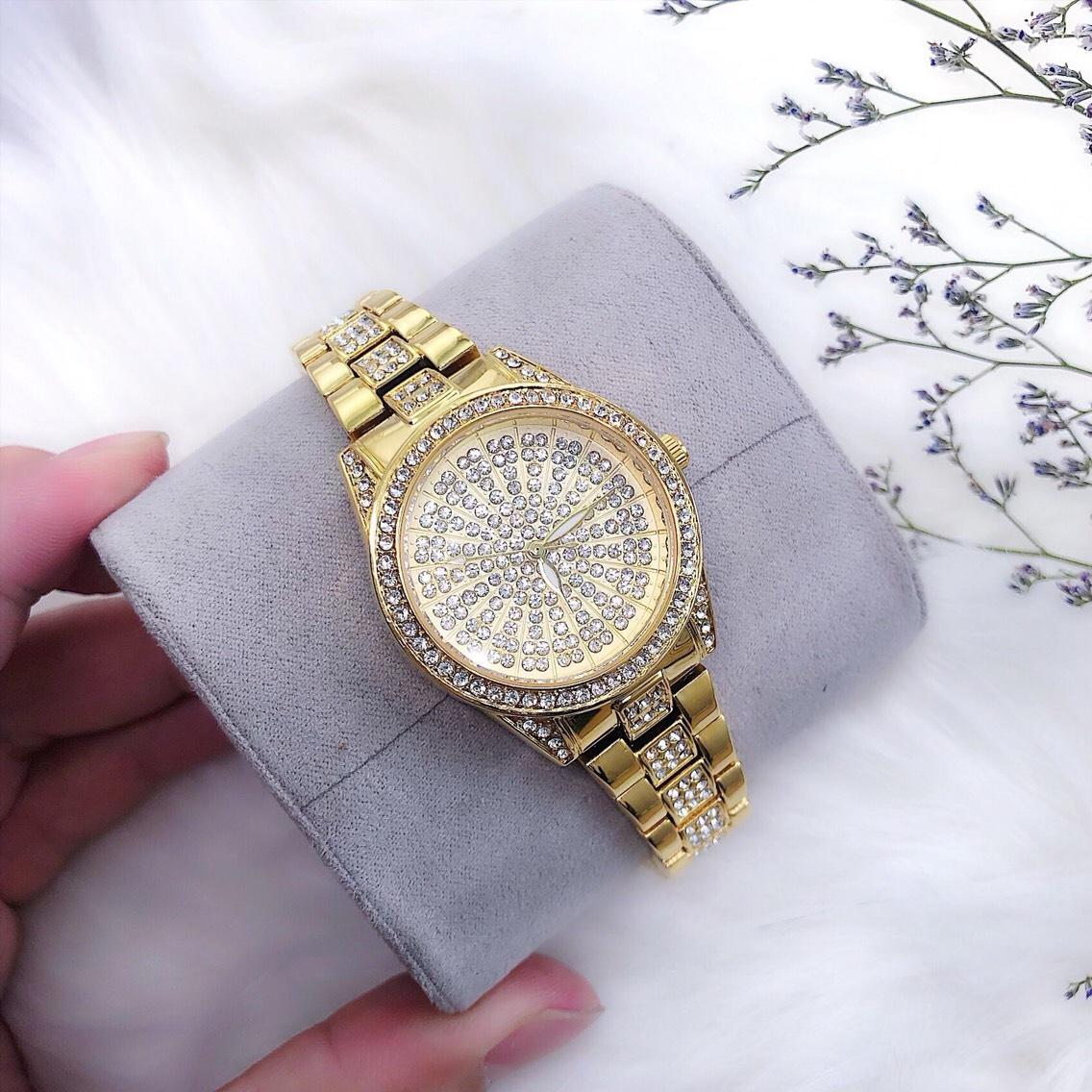 Đồng hồ nữ BS đính đá cao cấp bán chạy