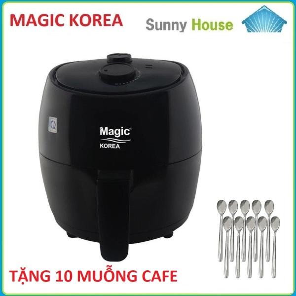 Nồi chiên không dầu Magic Korea A85 Dung Tích 3.5Lít Công Xuất 1.300W  - Bảo Hành 12 Tháng Chính Hãng