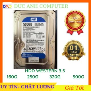 Ổ cứng HDD WESTERN 250GB 320GB 500GB (Hàng Tháo Máy Bộ- mới trên 90%) - Bảo hành 12 tháng 1 đổi 1 thumbnail