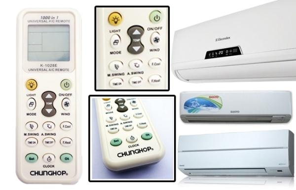 Bảng giá Remote đa năng cho tất cả các dòng máy lạnh + tặng kèm pin Điện máy Pico