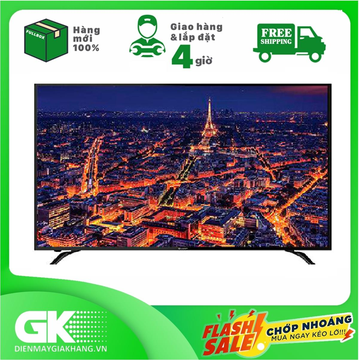 Bảng giá Smart Tivi 4K 60 inch Sharp 4T-C60AL1X Android TV