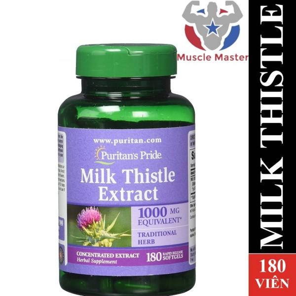 Viên Uống Giải Độc Gan Milk Thistle Extract 180 Viên giá rẻ