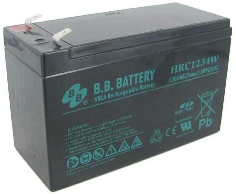 Bảng giá Bình Ắc Quy B.B Battery 12V 7Ah  HR1234W Phong Vũ