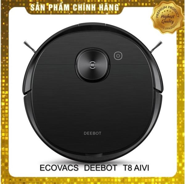 Robot hút bụi lau nhà Ecovacs Deebot T8 Aivi- Hàng mới nguyên seal 100%- Tặng app Ecovacs home- Giọng nói robot tiếng Việt