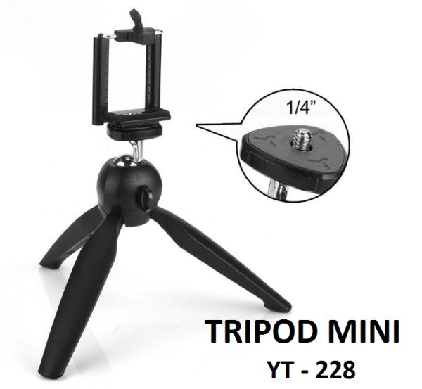 Tripod mini cho điện thoại và camera YT-228
