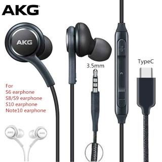 Tai nghe AKG S10 S10plus Note10 Note10+ chân 3.5 chân TYpe C chính hãng dùng cho các loại điện thoại thumbnail