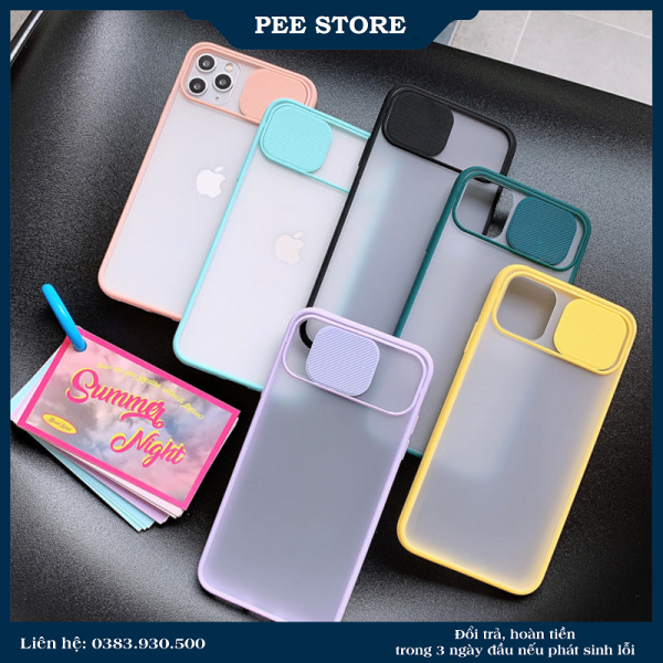 Ốp Lưng IPhone , Ốp Che Camera Cho iPhone6/7/8/7plus/8plus/x/xs/xs max /ip11/ 11 pro max - PEE STORE
