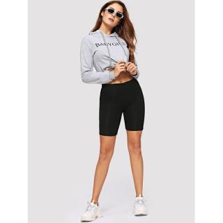 Quần thun legging thể thao CERA-Y D40 ôm body màu đen CRQ020 thumbnail