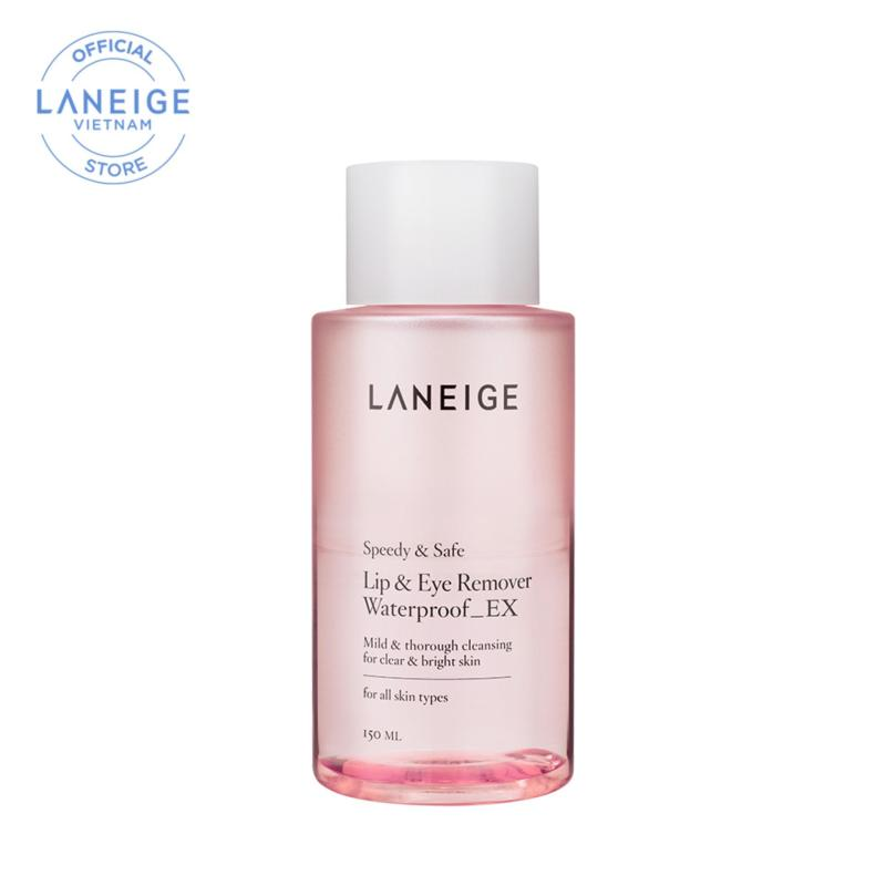 Nước tẩy trang dành cho mắt và môi Laneige Lip & Eye Remover Waterproof Ex 150ml cao cấp