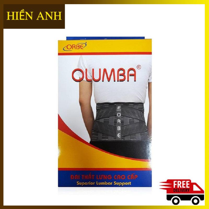 Đai thắt lưng cao cấp ORBE OLUMBA-Dùng cho người thoát vị đĩa đệm thoái hóa đốt sống- Đai lưng Orbe-Hiền Anh