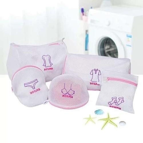 Set Túi Giặt Đồ Đa Năng 5 Chi Tiết