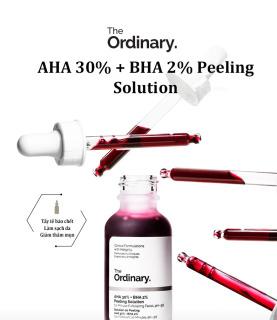 The Ordinary. AHA 30% + BHA 2% Peeling Solution Tẩy Tế Bào Chết Peel Da Cấp Ẩm Serum Làm Sáng Da Chống Lão Hóa 30ml thumbnail